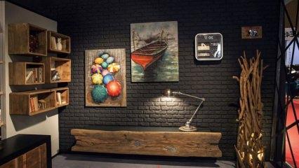 Dekorasyonda tabloların kullanımı