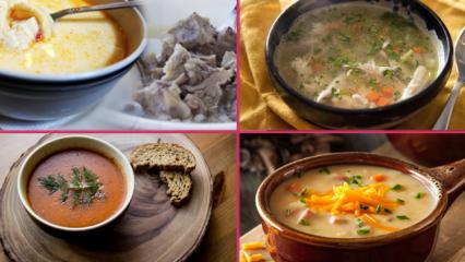 En pratik çorba tarifleri
