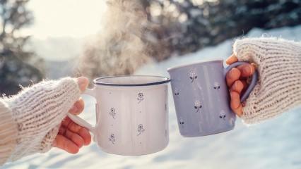 Ender Saraç'tan enfes zayıflatan kış çayı tarifi