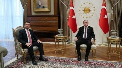 Cumhurbaşkanı Erdoğan, İmamoğlu'nu kabul etti!