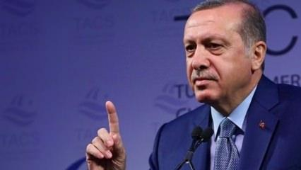 Erdoğan toplantıda çok sinirlendi: Rezillik bu...