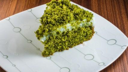 Pratik ıspanaklı kek tarifi
