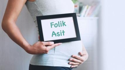 Folik asit nedir, neden kullanılır? Hamilelikte folik asit kullanımı ve önemi
