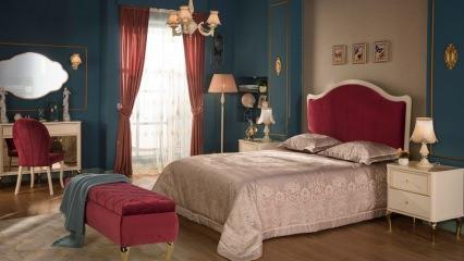 İyi uyku için yatak odası dekorasyonları