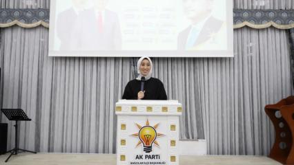 AK Parti İstanbul Milletvekili Rümeysa Kadak projelerinden bahsetti