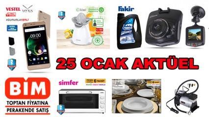 25 Ocak BİM aktüel kataloğu belli oldu! Elektronik ürünlerde büyük kampanya...