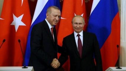 Erdoğan ve Putin'den güvenli bölge açıklaması!