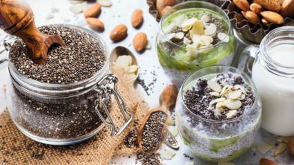 Chia tohumu ile yapılan pratik zayıflatıcı tarifler