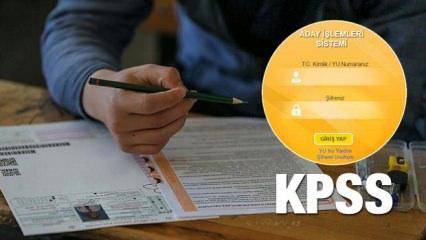2019 Kamu Personeli Seçme Sınavı (KPSS) ne zaman?