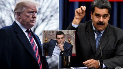 Yunanistan Venezuela konusunda safını seçti!