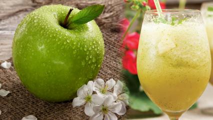 Elma diyeti nasıl yapılır? Ödem atan yeşil elma...