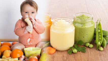 Bebekler ek gıdaya nasıl başlatılır? Ek gıda dönemi beslenme listesi