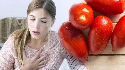 Kalp dostu besinler nelerdir? Her gün düzenli 2 domates yerseniz...
