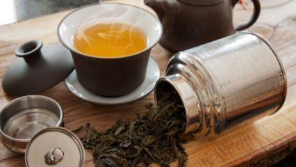 Oolong çayı (Kokulu çay) nedir? Oolong çayının faydaları nelerdir?