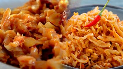 Kolay kapuska yemeği nasıl yapılır?