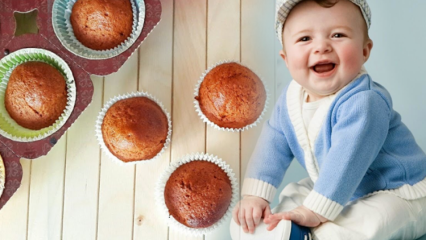 Bebekler için kek nasıl yapılır? Pekmezli ve cevizli...