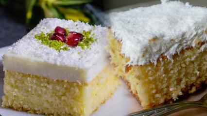 Pratik sütlü şerbetli tatlı tarifi