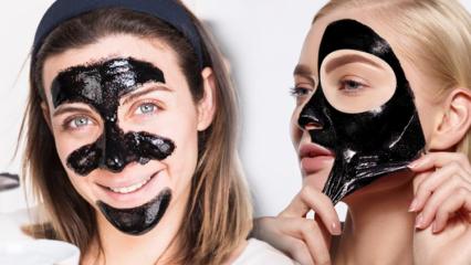 Siyah maskenin faydaları nelerdir? Siyah maske cilde nasıl uygulanır?