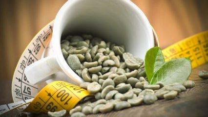 Yağ yaktıran yeşil kahve ile zayıflama yöntemi