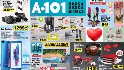 A101 15 Şubat aktüel katalog ürünlerinin tümü! Hediyelik ve elektronik...
