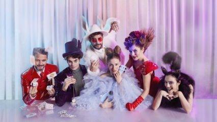 Alice Müzikali'ne ünlüler akın etti!