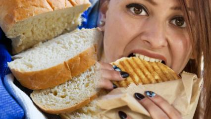 Ekmek kilo aldırır mı? Ekmek yemeden 1 ayda kaç kilo verilir?