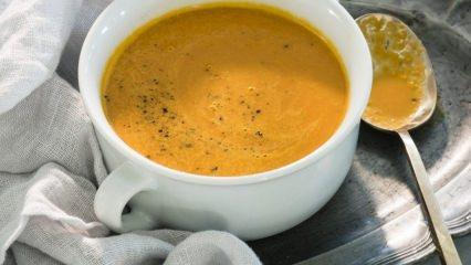 Leziz zencefil çorbası nasıl yapılır?