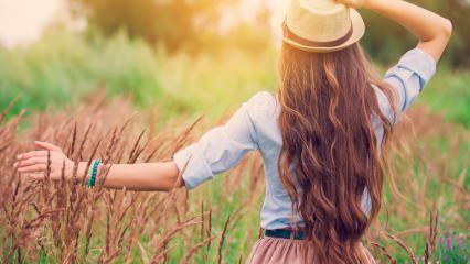 Saç nasıl uzar? Hızlı saç uzatan etkili yöntemler