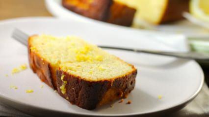 Enfes limonlu ıslak kek tarifi
