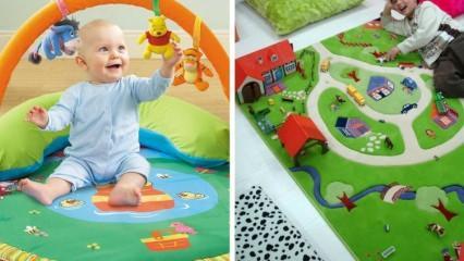 Oyun halısı bebekler için gerekli mi? Faydaları var mı?