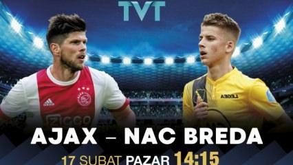 Ajax - NAC Breda maçı TVT'de