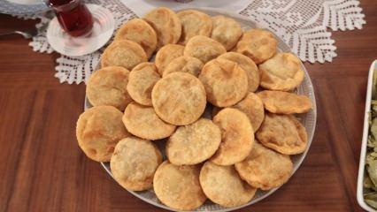 Pratik fincan böreği nasıl yapılır?