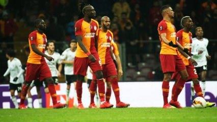 Galatasaray evinde turu zora soktu!