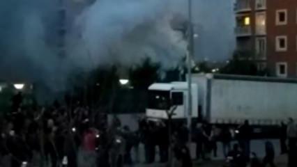 İstanbul'da helikopter düştü! İlk görüntüler