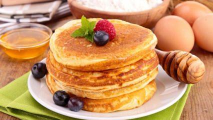 Un ve şeker kullanmadan pankek nasıl yapılır?