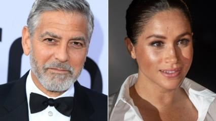 Hollywood yıldızı George Clooney Meghan'a sahip çıktı!