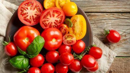 Domates yiyerek nasıl zayıflanır? 3 kilo verdiren domates diyeti