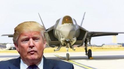 Trump'tan Türkiye'yi kızdıracak F-35 kararı! İmzalayıp o tarihi verdi