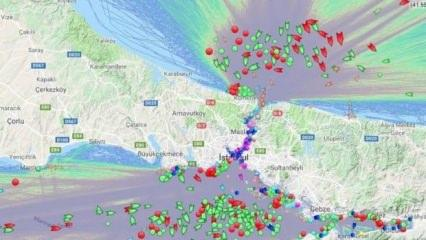Yüzlerce gemi İstanbul Boğazı'nda bekliyor!
