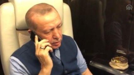 Erdoğan'dan ünlü şarkıcıya taziye telefonu