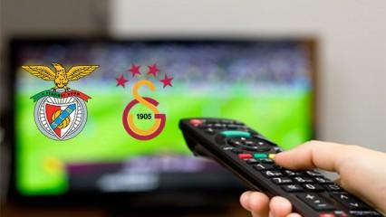 Galatasaray Benfica maçını şifresiz veren kanal belli oldu! GS-Benfica..