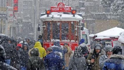Meteoroloji'den son dakika kar uyarısı!