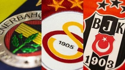 Liste yayınlandı! Türkiye'de zirve Fenerbahçe'de!