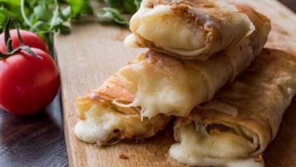 Paçanga böreği nedir? Paçanga böreği nasıl yapılır?