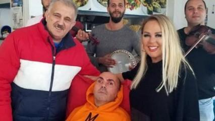 Safiye Soyman engelli oğlunun yeni yaşını kutladı!