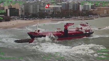 Türk gemisi böyle görüntülendi