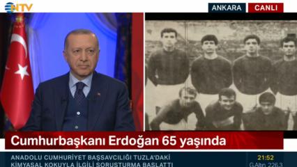 Cumhurbaşkanı Erdoğan'ı duygulandıran sürpriz