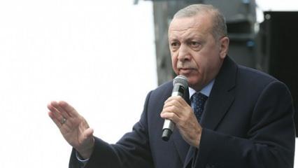 Erdoğan 'Suyu ucuzlatacağız' diyen Kılıçdaroğlu'na cevap verdi