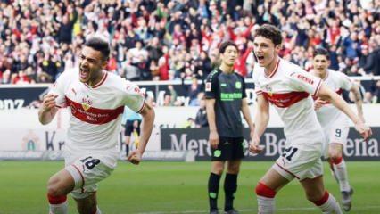 Ozan Kabak, Almanya'yı salladı! 2 gol...