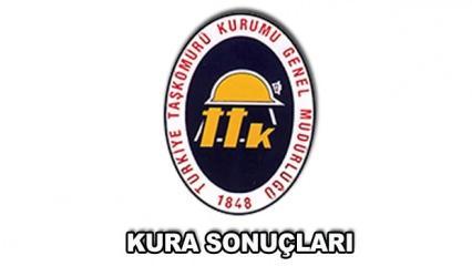 Türkiye Taş Kömürü kura sonuçları açıklandı! TTK 1000 personel alımı..
